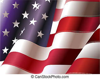 stati, unito, –, manifesto, grafici, indipendenza, 4, giorno, america., luglio, grafico