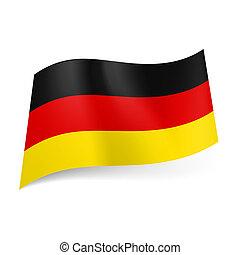 stato, bandiera germania