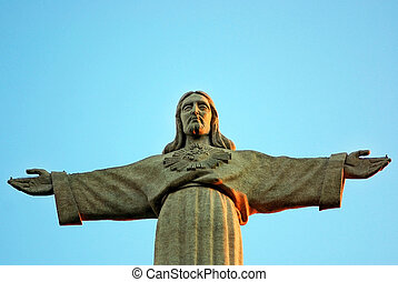 statue., cristo, gesù