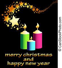 stella, anno, nuovo, riprese, 2013, felice