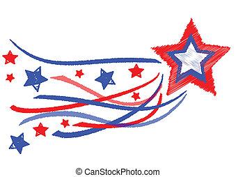 stella, giorno, indipendenza