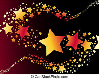 stella, vettore, riprese, illustrazione
