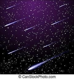 stellato, cielo notte