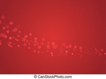 stelle, sfondo rosso