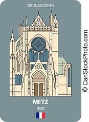 stephen, francia, metz, st, cattedrale