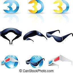stereoscopic, 3d occhiali