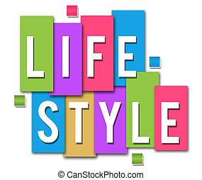 stile di vita, colorito, zebrato