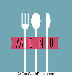 stile, menu ristorante, -, variazione, disegno, 7, elegante, minimo