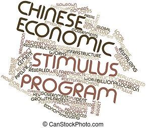 stimolo, programma, economico, cinese