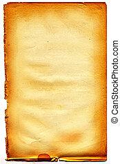 stracciato, white., edge., carta, #21, vecchio, textured