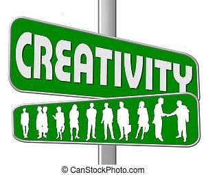 strada, creatività, segno