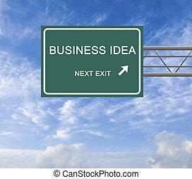 strada, idea, affari firmano