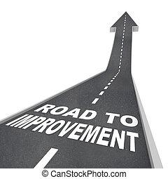 strada, -, strada, parole, miglioramento