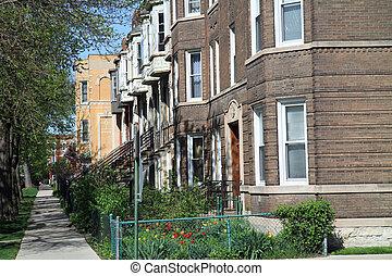 strada, tipico, chicago