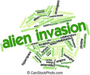 straniero, invasione