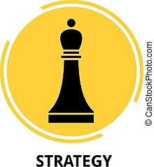 strategia, vettore, -