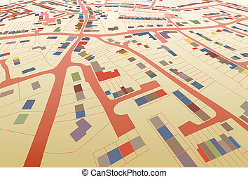 streetmap, prospettiva