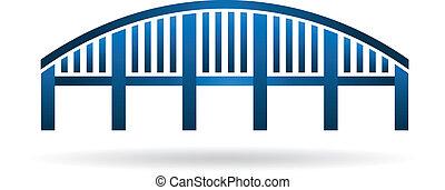 struttura, arco, image., ponte
