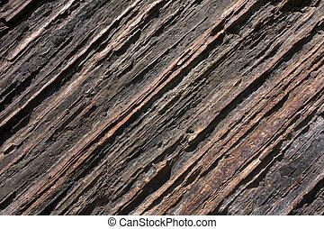 struttura, argillite, roccia