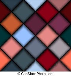 struttura, blocchi, colorato, 3d