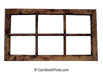 struttura finestra, alterato