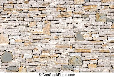 struttura pietra, fondo, parete, foto