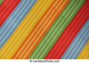 struttura, strisce, tessile, colorito