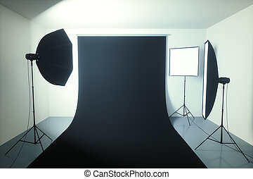 studio fotografia, seamless, fondo