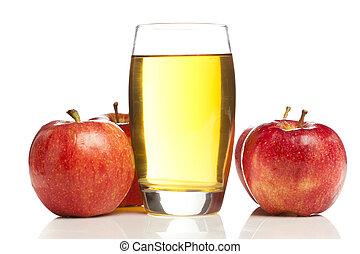 succo, organico, rinfrescante, mela