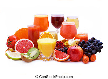 succo verdura, frutta