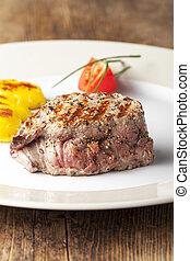 succoso, cotto ferri, bistecca