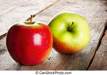 succoso, maturo, mele