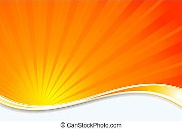 sunburst, fondo