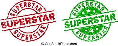 superstar, struttura, tesserati magnetici, sporco, rotondo