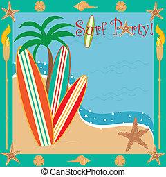 surf, festa