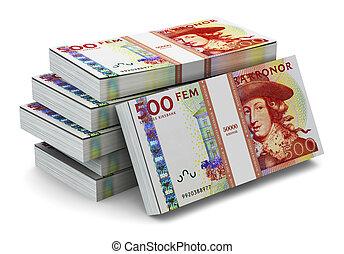 svedese, 500, accatastare, krones