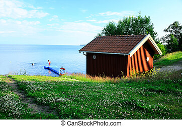 svedese, estate, cottage