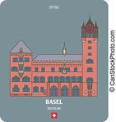 svizzera, municipio, basel
