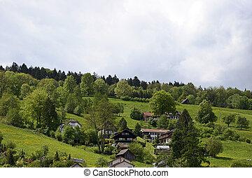 svizzero, villaggio