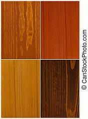 swatches colore, legno