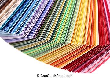 swatches colore, libro