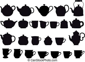 tè, coffe
