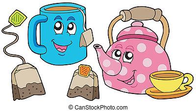 tè, collezione