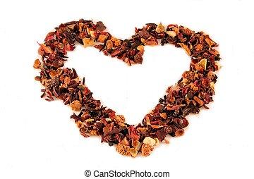 tè, cuore