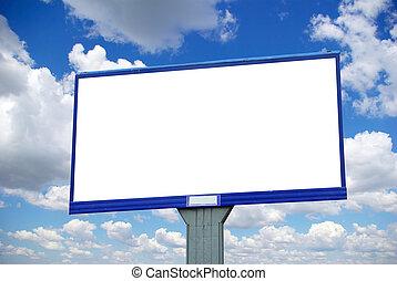 tabellone, pubblicità