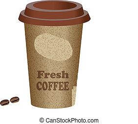 takeway, caffè