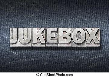 tana, juke-box, parola