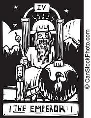 tarocco, imperatore, scheda