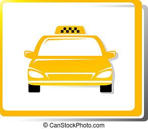 tassì, automobile, immagine