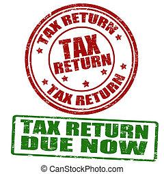 tassa, francobolli, ritorno
